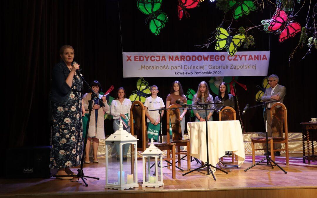Narodowe Czytanie Moralność pani Dulskiej Gabrieli Zapolskiej